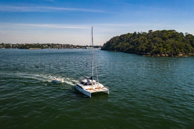boat hire sydney on delphinus 3