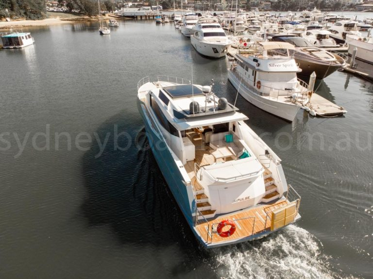 Sydney boat hire on impulse 2