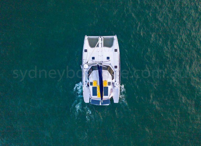 boat hire sydney on Serendipity 9