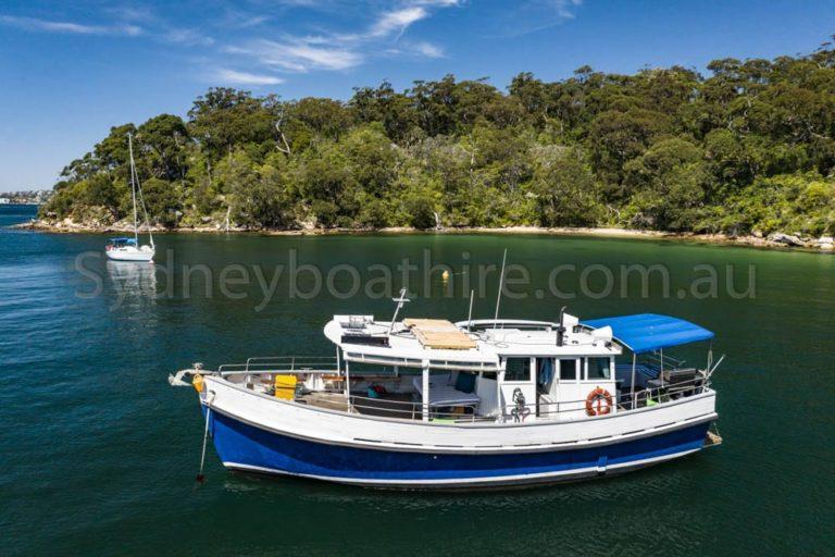 boat hire on north sea
